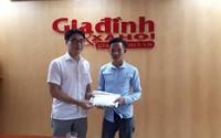 Bé Hà Hoàng Thiên Di nhận thêm gần 13 triệu đồng