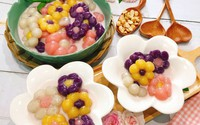 Cách nấu chè khoai dẻo tạo hình bông hoa ngon miệng, đẹp mắt