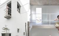 Vợ chồng trẻ xây nhà 2 tầng 45m² ở quê, bình dị mà được lên cả báo nước ngoài
