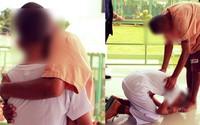 Cậu bé gặp lại bố trong tù khi đi tham quan cùng trường