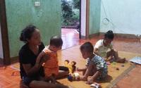 Rơi nước mắt cảnh 3 đứa trẻ không cha, bỗng chốc mồ côi cả mẹ