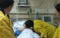 Nụ hôn cuối cùng với vợ của người đàn ông nguyện tặng tim, gan, phổi sau khi qua đời