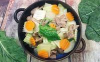 Thịt bê xào su hào, cà rốt thơm giòn, tươi mát