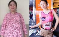 Hai năm đổi đời của cô gái từng mất việc, mất chồng vì nặng gần 100 kg