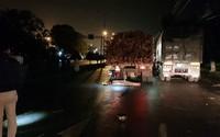 Đà Nẵng: Xe máy đâm vào xe tải đỗ bên đường, 1 người chết, 1 người nguy kịch