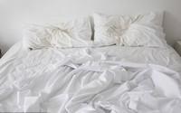 Không phải cho vào máy là xong, drap giường thay xong phải giặt thế này mới gọi là sạch sẽ