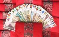 Lì xì tết 2018: Cơn sốt bộ tiền đa quốc gia 28 nước