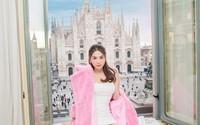Ngọc Trinh nghỉ tại khách sạn đắt đỏ bậc nhất Italy