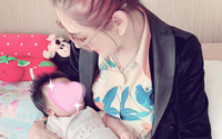 Lâm Khánh Chi: 'Con trai tôi đã chào đời'