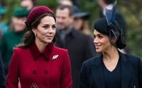 Thêm bằng chứng cho thấy Meghan và chị dâu Kate 'bằng mặt không bằng lòng', họ chỉ đang 'diễn' trước công chúng