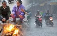 Tin mới nhất về không khí lạnh: Miền Bắc rét đậm, mưa to
