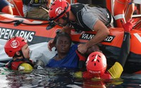 Đắm thuyền hơi trên Địa Trung Hải, 117 người vẫn đang mất tích