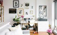 Nữ chủ nhân pha trộn nội thất sắc sảo khiến căn hộ này là nơi ở mơ ước của mọi cô nàng