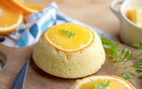 Cách làm bánh bông lan cam ngon đẹp nhức nhối không cần lò nướng