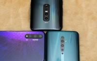 Những smartphone 4 camera sau đọ dáng