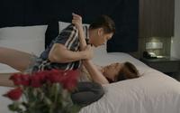 Một lúc 'xơi tái' 3 anh, Lương Thanh (Hoa hồng trên ngực trái) kể ra cũng khổ vì Trà 'tiểu tam'