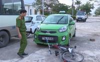 Tài xế taxi kéo người gặp nạn 2 km khi bỏ trốn