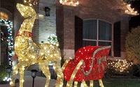 """Chi hơn 100 triệu đồng trang trí biệt thự đón Giáng sinh, chỉ giàu có như Quách Thành Danh mới dám """"chơi trội"""" đến thế"""
