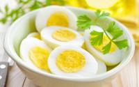 Áp dụng giảm cân sau Tết hiệu quả với trứng