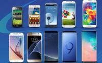 Sự thay đổi của dòng Galaxy S qua 10 năm