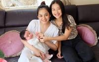 Em dâu Minh Hằng sinh con gái đầu lòng sau 6 tháng kết hôn, nhan sắc bà mẹ một con khiến ai cũng ngỡ ngàng