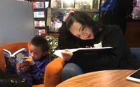 Bị chụp lén trong thư viện, cô giáo 9x nổi rần rần trên mạng