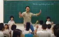 Thầy giáo tiểu học nhảy múa dẻo như cô giáo làm sục sôi lớp học