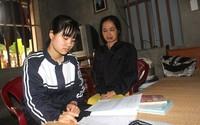 Mẹ ung thư, bố tàn tật, ông mù lòa và lời cầu cứu của cô nữ sinh trước nguy cơ thất học