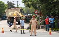 Xe tải chở đất tông chết hai người phụ nữ