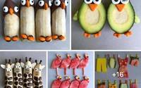 Những cách cắt xếp trái cây mẹ nào cũng có thể làm được ngay vì cực dễ