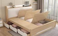 Thiết kế phòng ngủ siêu bé với diện tích 8,4m² cho gia đình 5 người