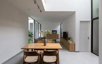 Nhà trong ngõ hẹp có thiết kế trong lành và gần gũi với thiên nhiên