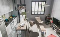 Căn hộ 30m2 quá đỗi hoàn hảo khi kiến trúc sư nâng phòng ngủ lên để làm nơi lưu trữ
