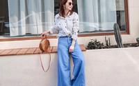 Nhấn mạnh: Quần jeans không chỉ bụi bặm mà còn rất dịu dàng, sang chảnh nếu diện 4 kiểu sau