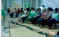 """Bệnh viện Bạch Mai lên tiếng chuyện """"xếp dép chờ khám bệnh"""" lan truyền trên mạng xã hội"""