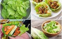 Có nên bỏ đường gân giữa lá xà lách khi ăn sống?