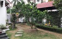 Biệt thự sân vườn nằm trong khu nhà giàu của nàng Á hậu Việt lên xe hoa với đại gia hơn 13 tuổi ngay sau đăng quang