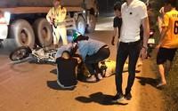 Hà Nội: Một cảnh sát giao thông bị xe tông nhập viện khi băng qua đường