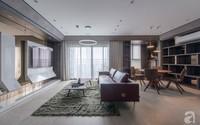Căn hộ 127m² phong cách đương đại có tổng chi phí thi công và hoàn thiện lên đến 1,3 tỷ đồng ở Hà Nội