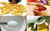 Chích 2 viên vitamin E lấy dịch, trộn lẫn cùng mật ong rồi thoa lên mặt, bạn sẽ bất ngờ