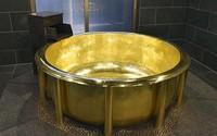 Chiếc bồn tắm bằng vàng mất 8 tháng để hoàn thành giá hơn 166 tỷ đồng