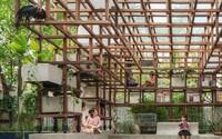 """Công trình """"vườn - ao - chuồng"""" kiểu phố thị ở Hà Đông lên báo nước ngoài"""