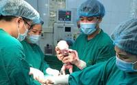 Mẹ trẻ ở Tuyên Quang sinh 3 bé trai giống hệt nhau, hiếm đến mức 200 triệu ca mới có 1