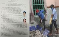 Truy tìm 2 đối tượng liên quan đến vụ giấu xác trong thùng bê tông