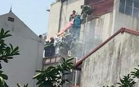 Lời kể nhân chứng vụ quán cafe bốc cháy ở Hà Nội khiến 2 người thiệt mạng