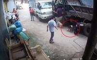 Hy hữu: Xe đạp điện chở 2 em nhỏ bị xe tải cuốn vào gầm, cô gái tử vong, phút cuối nhìn 2 em bé chui ra