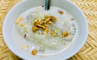 Chè chuối cốt dừa mát rượi mùa hè