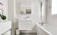 Cuộc cách mạng trong thiết kế phòng tắm nhỏ với 8 xu hướng phá vỡ quy tắc