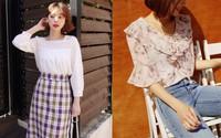 6 mẫu áo blouse xinh không để đâu cho hết giúp chị em công sở mặc đẹp suốt hè này