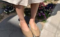 Quên giày cao gót đi, dáng bạn vẫn sẽ cao ráo và phong cách thì đậm chất công sở với 4 kiểu giày bệt này